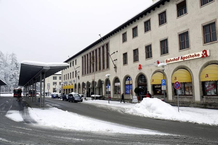 貝希特斯加登Berchtesgaden-火車站
