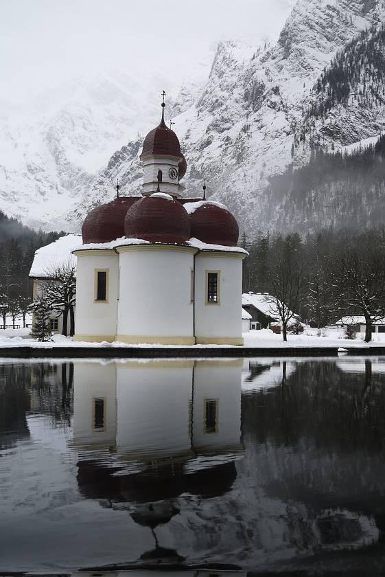 國王湖Königssee-聖巴多羅買教堂St. Bartholomä
