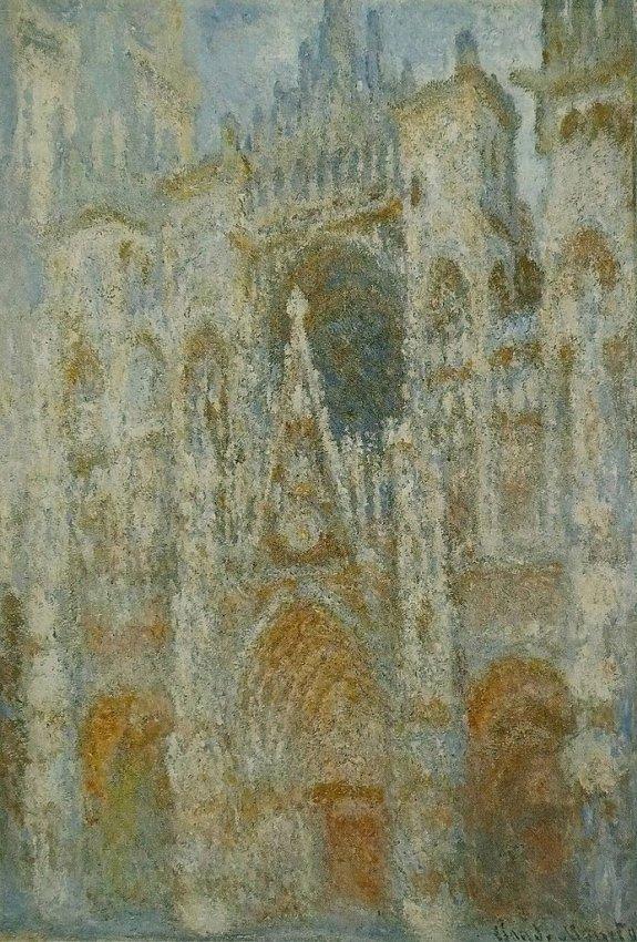 法國-巴黎-奧賽博物館Musée d'Orsay-盧昂大教堂