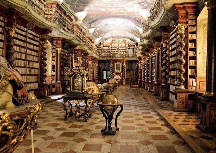 捷克-布拉格-舊城區-克萊門特學院圖書館