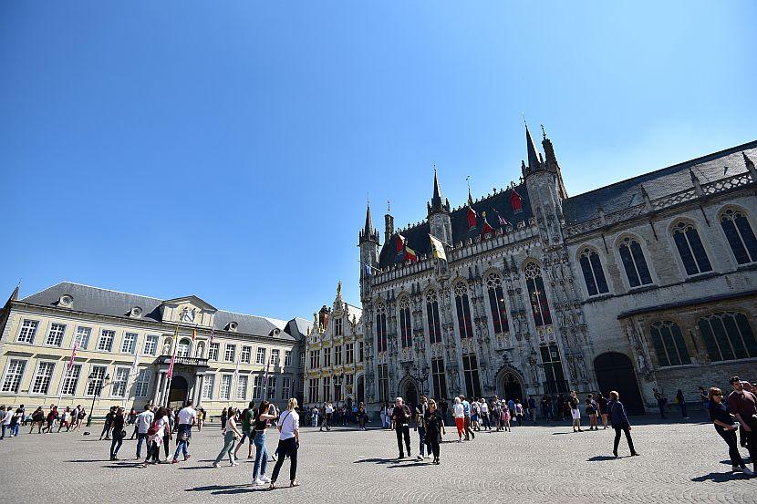 比利時-布魯日-城堡廣場