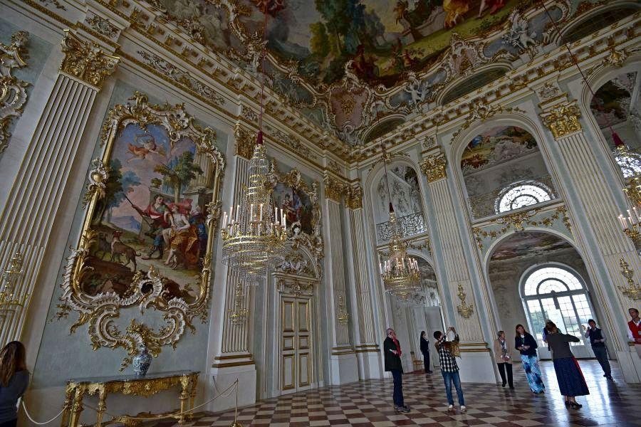 德國-慕尼黑-寧芬堡宮-大廳