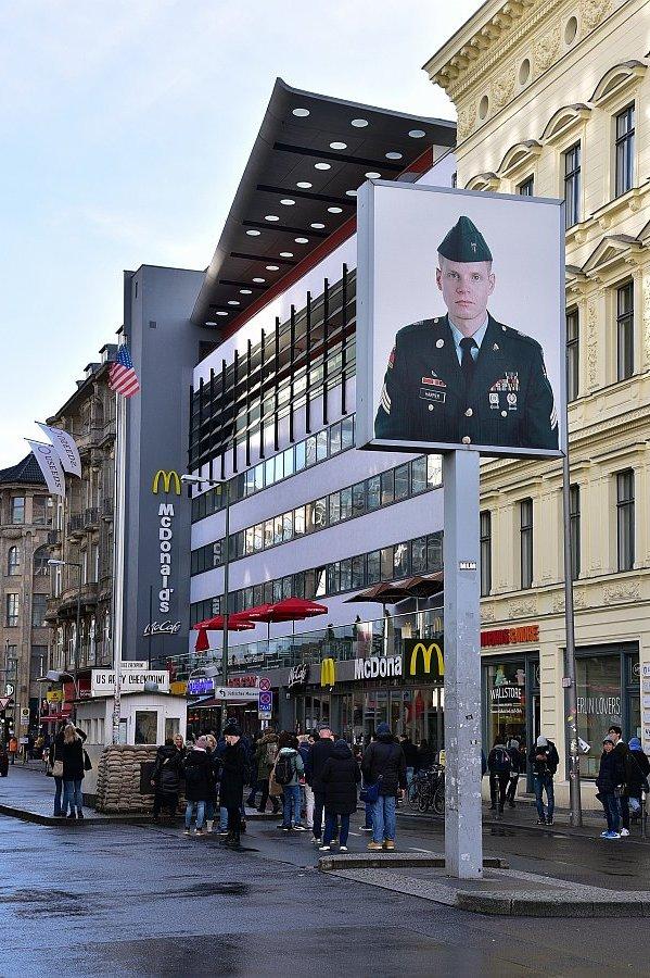 德國-柏林-查理檢查哨