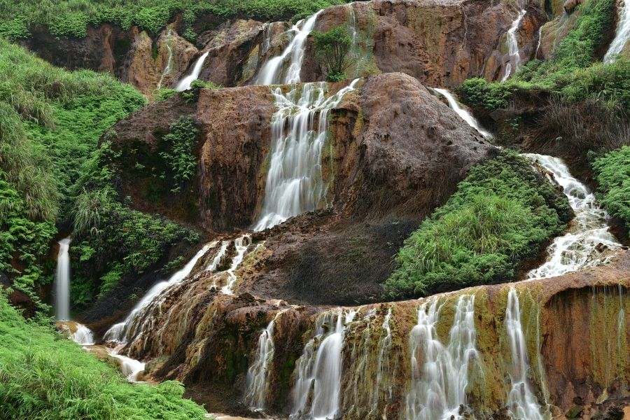 黃金瀑布溪瀑