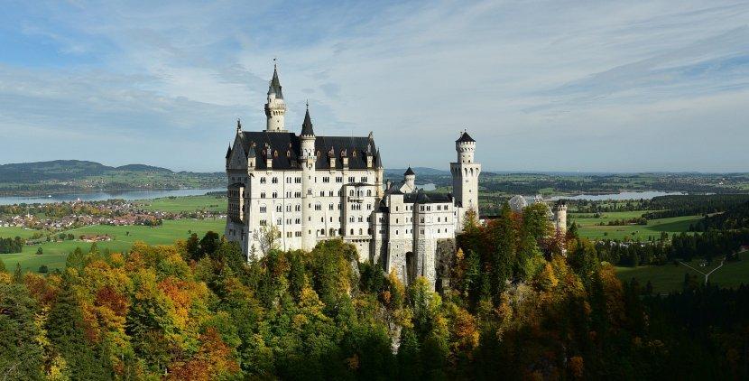 德國-霍恩施萬高(Hohenschwangau)-新天鵝堡(Schloss Neuschwanstein / New Swanstone Castle)