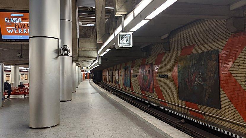 德國-紐倫堡-地鐵站