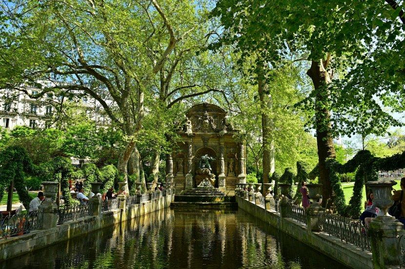 法國-巴黎-盧森堡公園