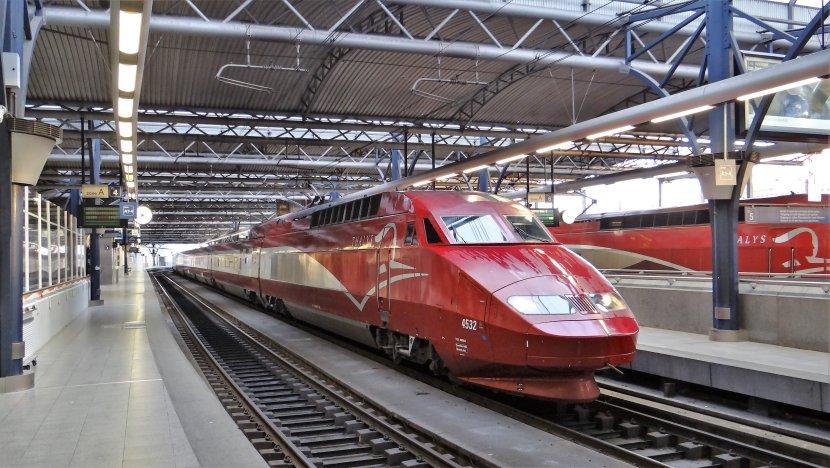 運行於阿姆斯特丹 – 布魯塞爾 – 巴黎的Thalys列車