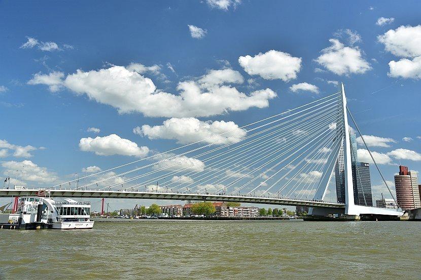 荷蘭-鹿特丹-伊拉斯謨橋(Erasmusbrug)