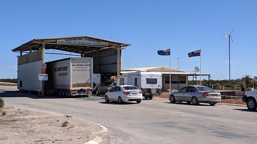 澳洲-西澳-邊境檢查站