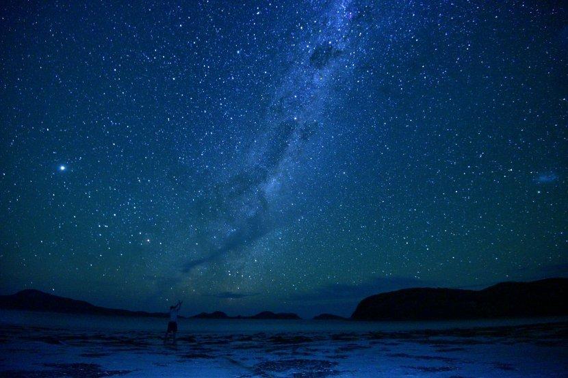 澳洲-西澳-大海角公園Cape Le Grand-Lucky Bay銀河