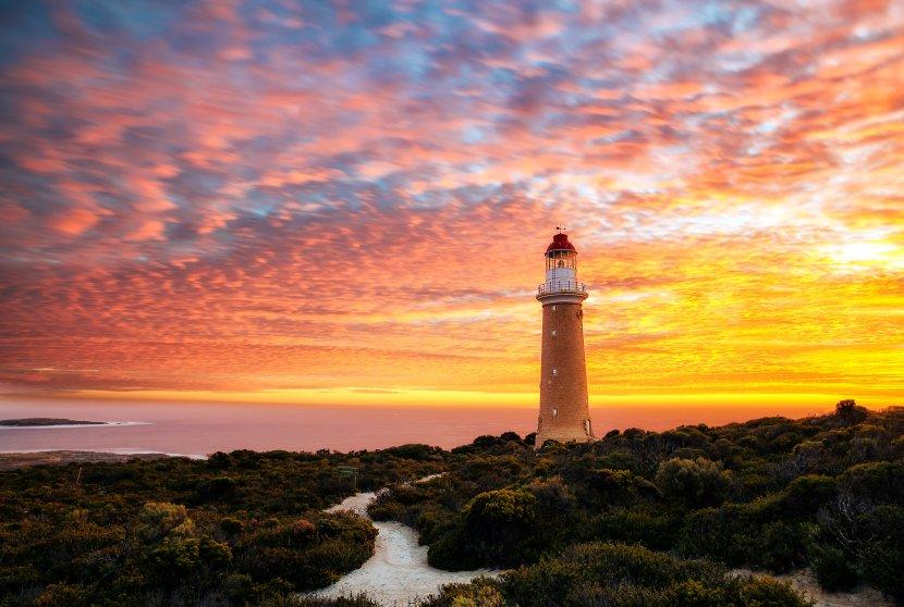 澳洲-袋鼠島-Cape Du Couedic燈塔