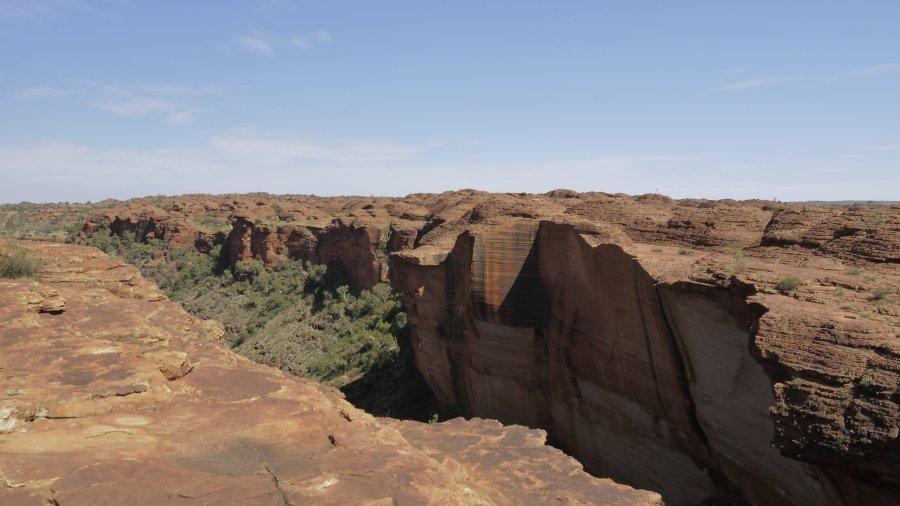 澳洲烏魯魯-國王峽谷Kings Canyon之Kings Canyon Rim