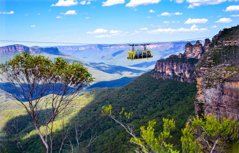 澳洲-雪梨近郊-藍山國家公園-Scenic World-Skyway
