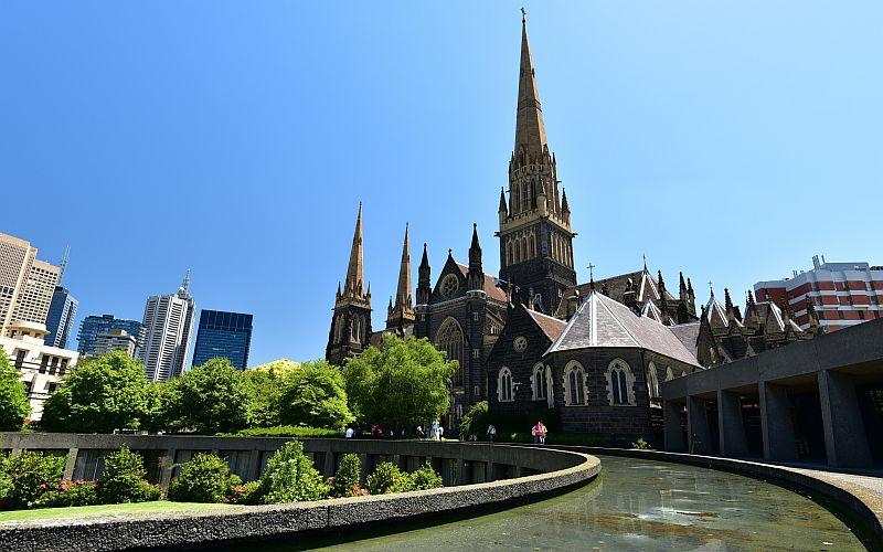 澳洲-墨爾本-St Patrick's Cathedral