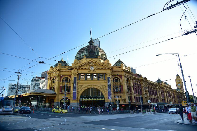 墨爾本-Flinders Street Railway Station