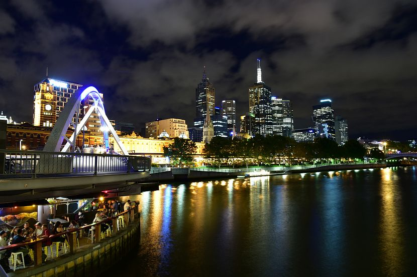 澳洲-墨爾本景點-墨爾本市區亞拉河岸
