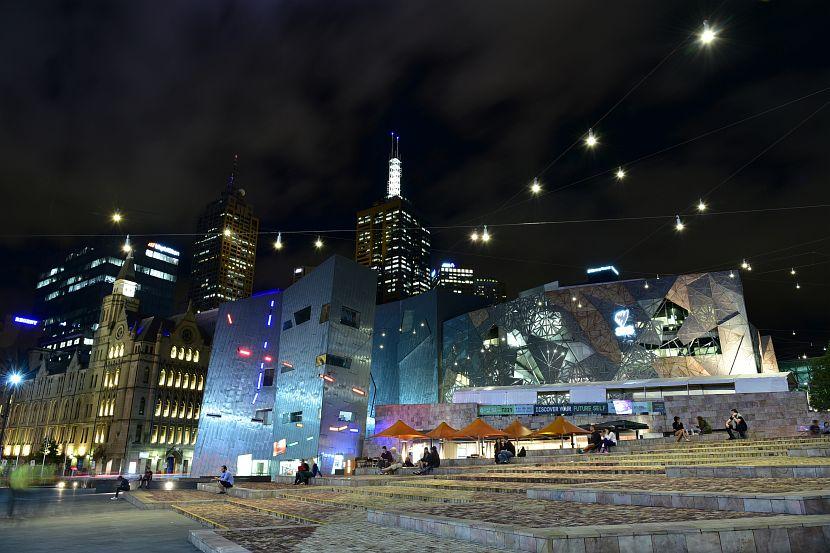 墨爾本-聯邦廣場-Federation Square