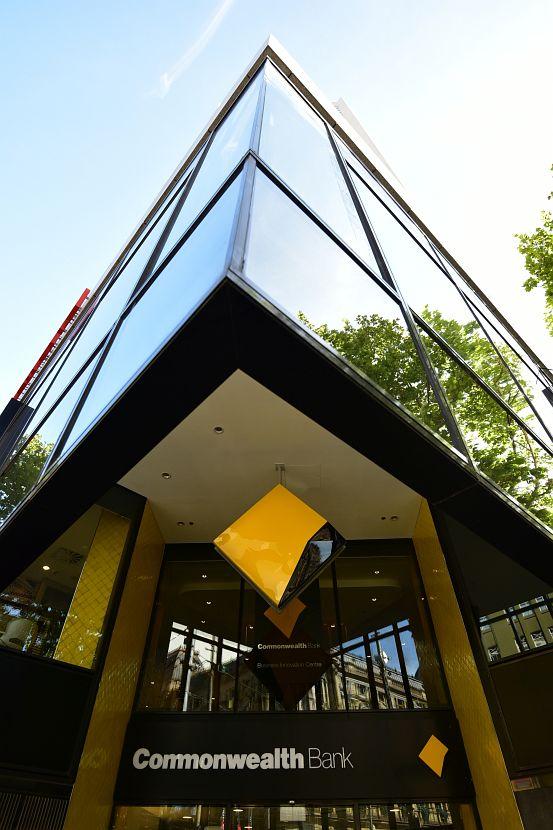 墨爾本-Bourke Street-Commonwealth Bank