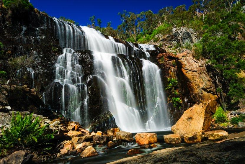 澳洲-格蘭坪國家公園-MacKenzie Falls
