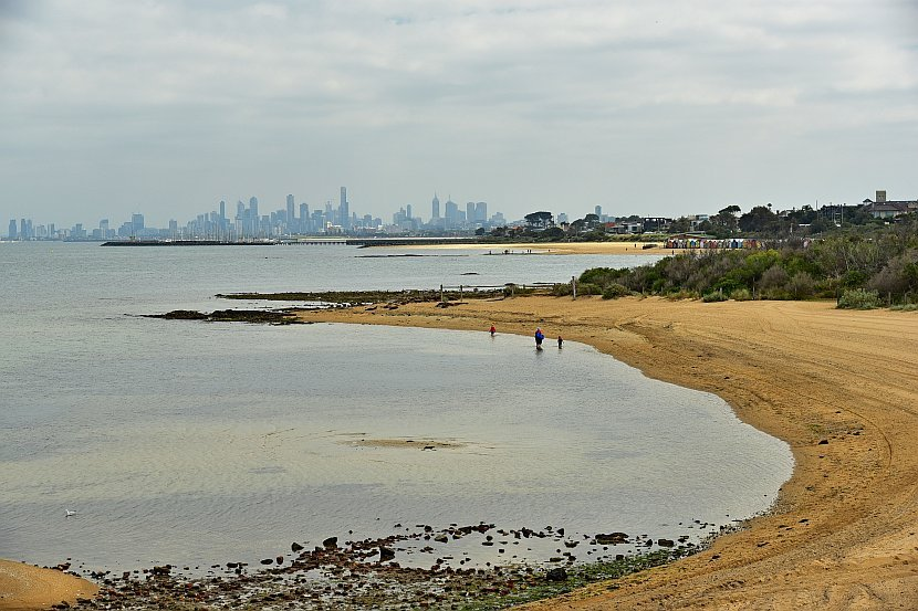 澳洲-墨爾本-Brighton Beach