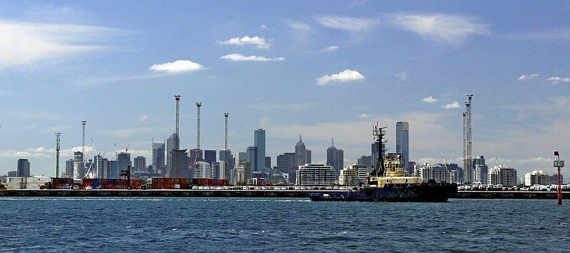 澳洲-墨爾本-Williamstown渡輪