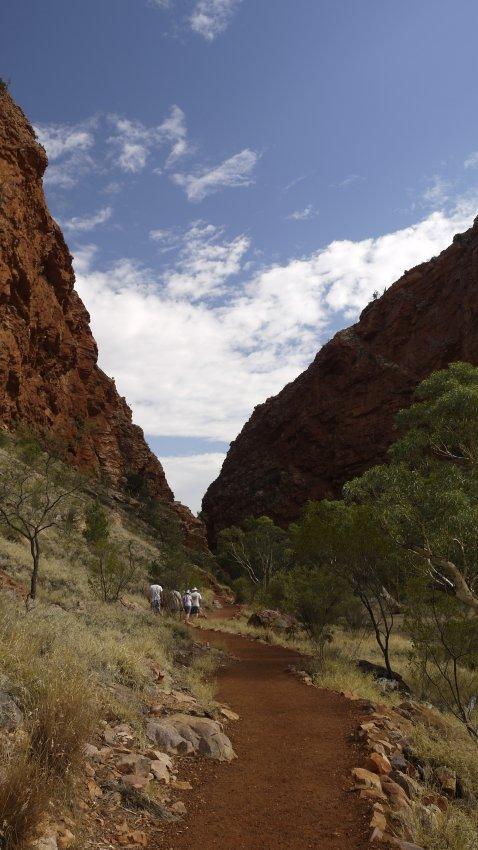 澳洲-西麥克唐奈爾山脈-Simpsons-Gap