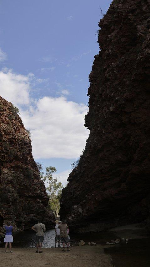 澳洲-West MacDonnell Ranges-Simpsons Gap