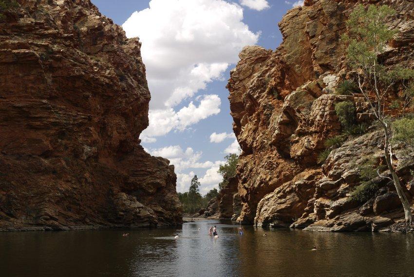 澳洲-West MacDonnell Ranges-Ellery Creek