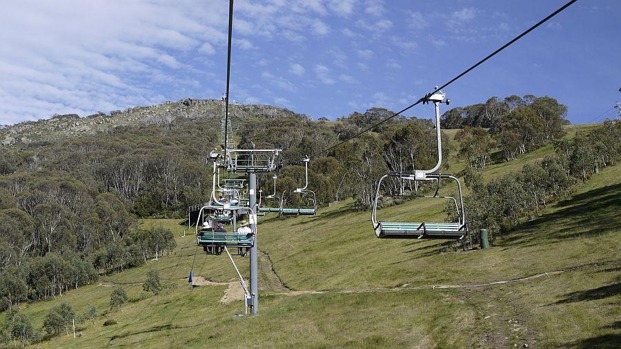 澳洲-Thredbo-Kosciuszko Express Chairlift