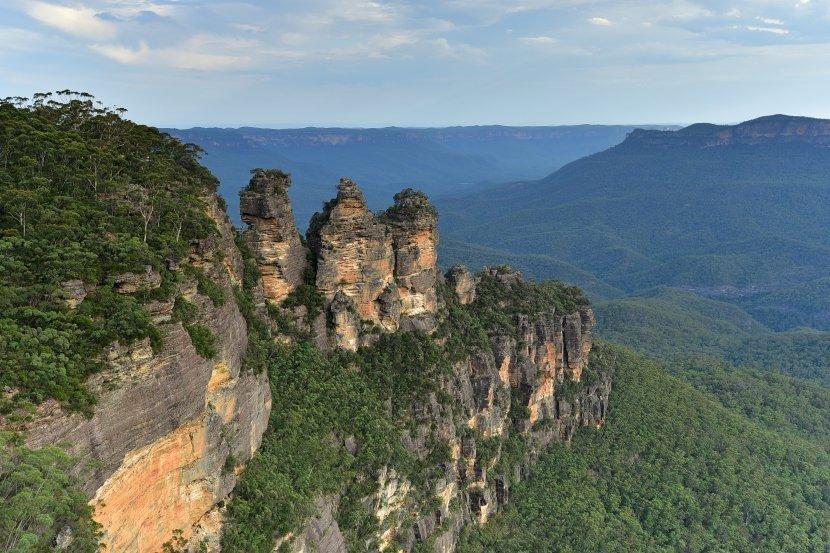 澳洲-雪梨近郊-藍山國家公園三姊妹岩