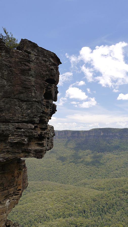 澳洲-新南威爾斯-藍山國家公園-三姊妹岩與Echo Point