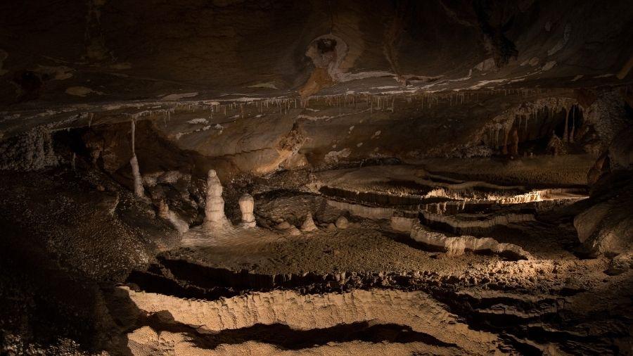 澳洲-藍山國家公園-珍羅蘭鐘乳石洞