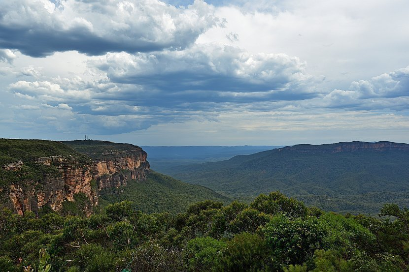 澳洲-藍山國家公園-Jamison Lookout