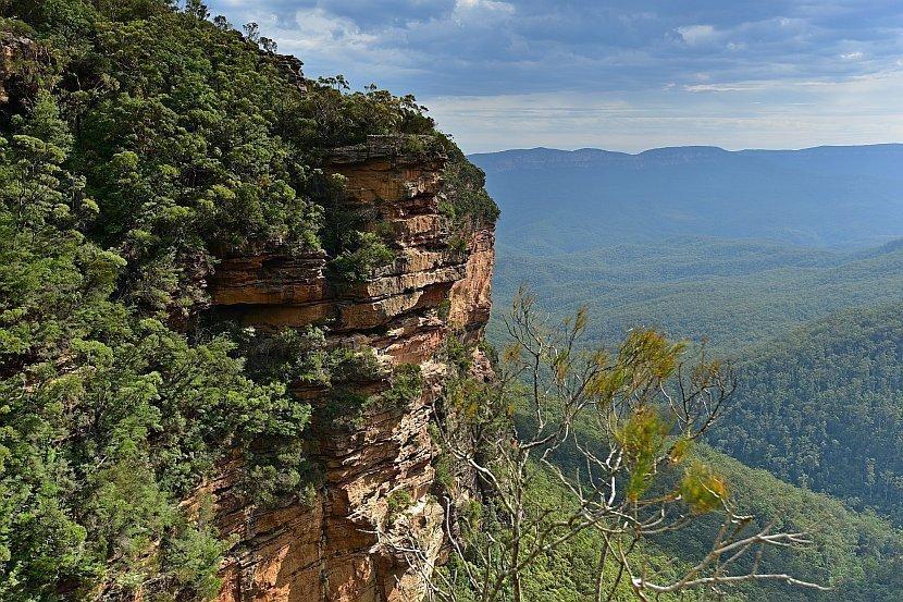 澳洲-新南威爾斯-藍山國家公園- Fletchers Lookout