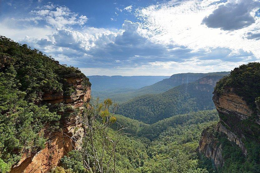 澳洲-新南威爾斯-藍山國家公園-Fletchers Lookout
