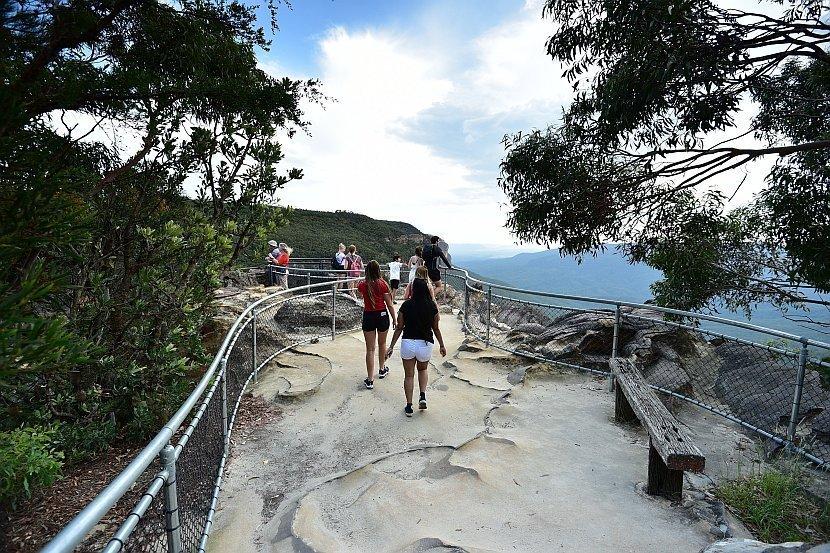 澳洲-新南威爾斯-藍山國家公園- Princes Rock Lookout