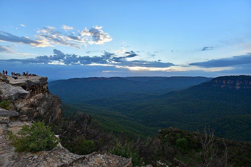 澳洲-新南威爾斯-藍山國家公園- Lincoln's Rock