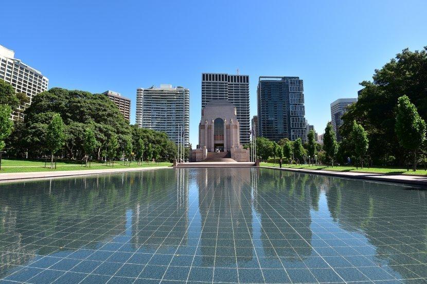澳洲-雪梨-海德公園Hyde Park