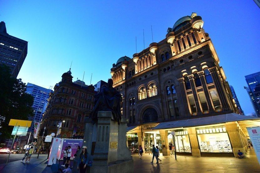 澳洲-雪梨-維多利亞女王大廈Queen Victoria Building
