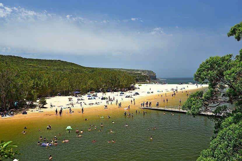 澳洲-新南威爾斯州-Royal National Park-Wattamolla Beach