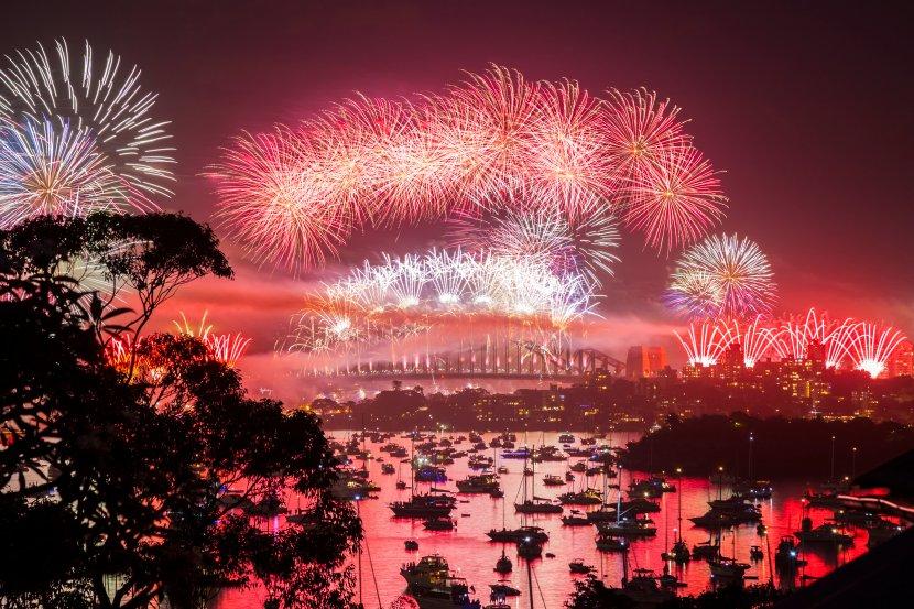 澳洲-雪梨跨年煙火