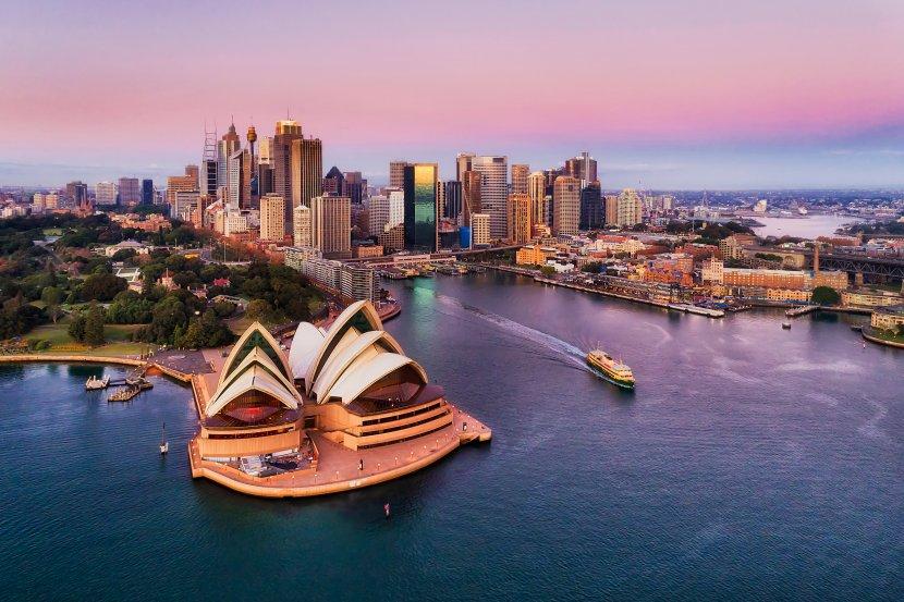 澳洲-雪梨-雪梨歌劇院與環形碼頭