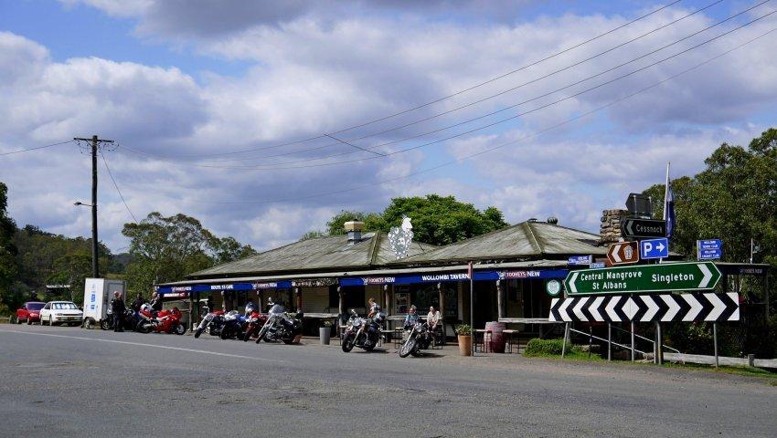 澳洲-雪梨-獵人谷-Wollombi小鎮