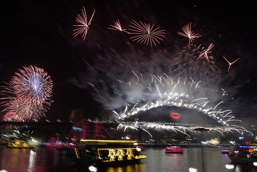 雪梨跨年煙火-環形碼頭&雪梨歌劇院&雪梨港灣大橋