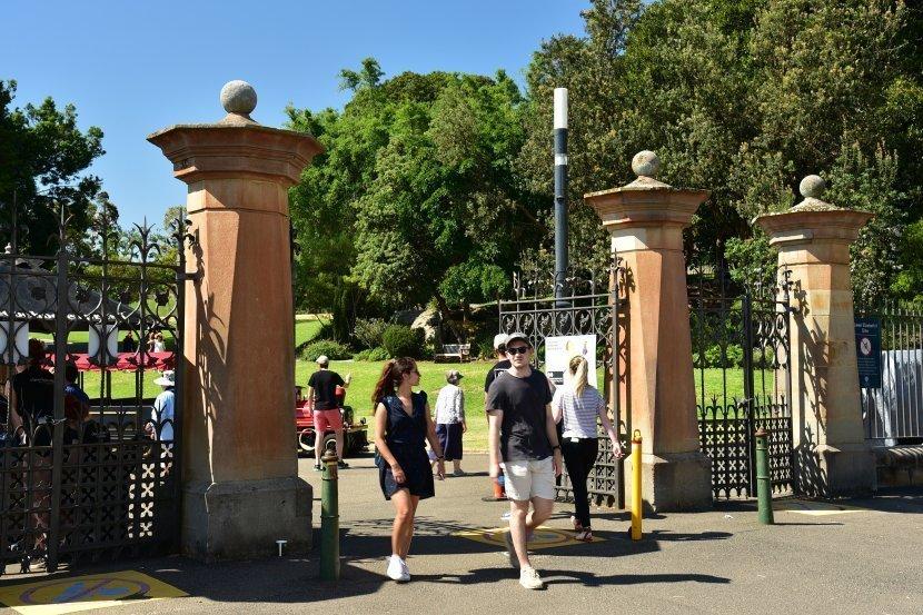 澳洲-雪梨-皇家植物園-伊莉莎白大門(Queen Elizabeth II Gate)