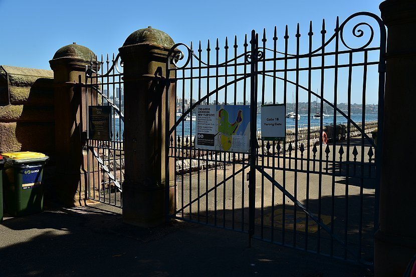 澳洲-雪梨-皇家植物園-Yurong Gate