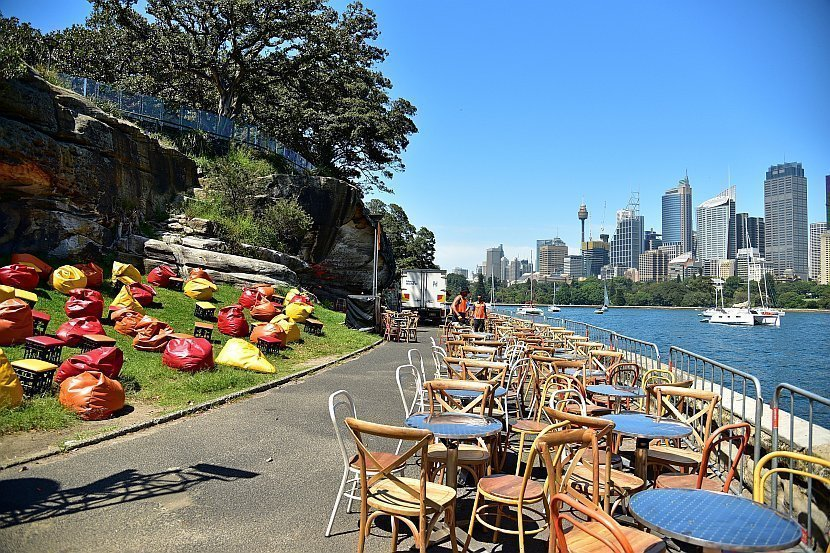 澳洲-雪梨-皇家植物園-The Point