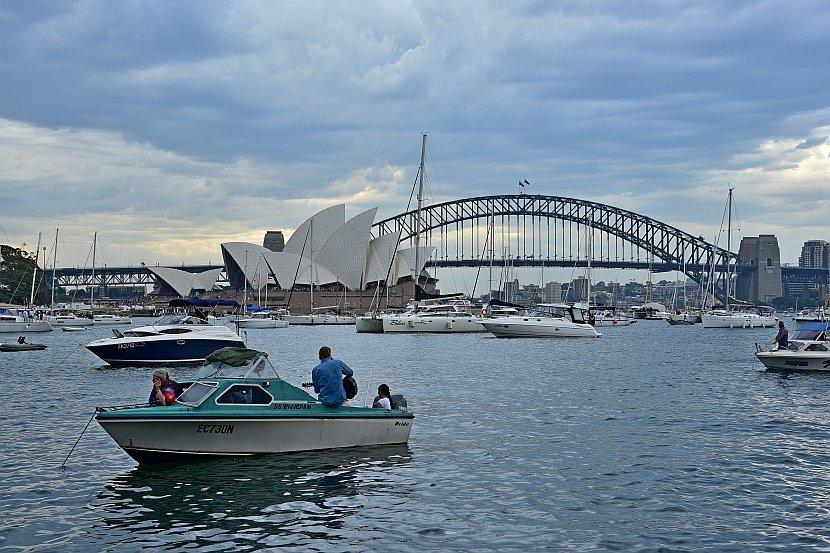 澳洲-雪梨-皇家植物園-The Point看港灣大橋與雪梨歌劇院