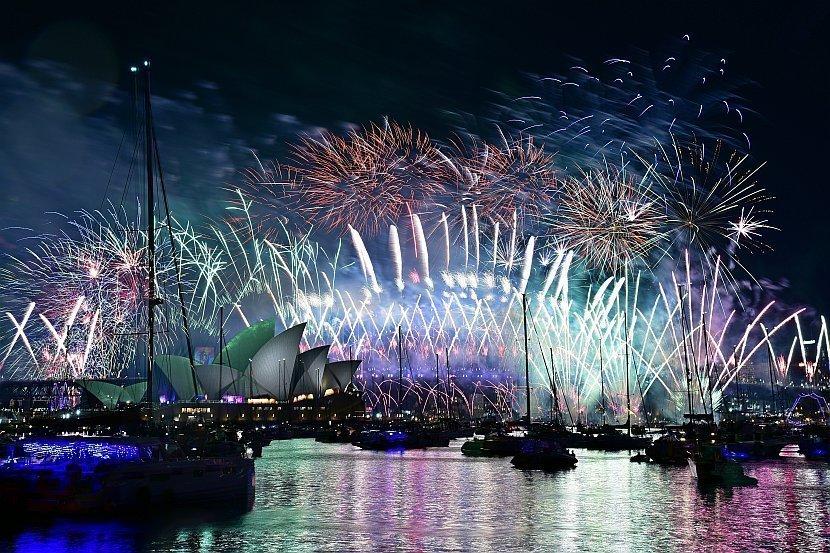 澳洲雪梨跨年煙火